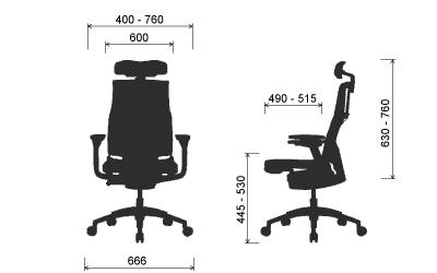 ергономичен стол Pofit [22]
